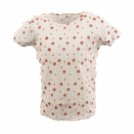 Tee shirt manches courtes fille WHITE 14 ANS