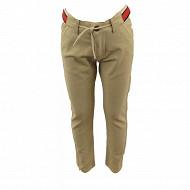 Pantalon toile garçon BEIGE 16-0924 TPX 12 ANS
