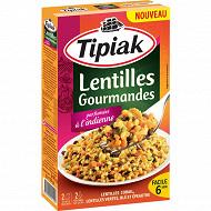 Tipiak lentilles gourmandes parfumées à l'indienne 240g