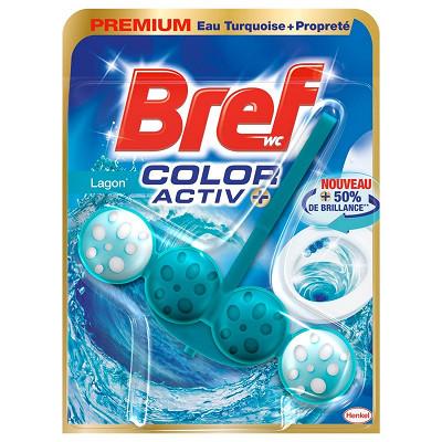 Bref Bref wc color activ lagon