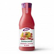 Innocent jus de rhubarbe pomme poire 900ml
