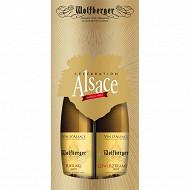 Coffret célebration Gewurztraminer + Riesling Wolfberger 12.2%vol