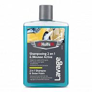 Holts shampoing super moussant + cire de carnauba 475ml