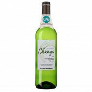 Change IGP Pays d'Oc Blanc Chardonnay Viognier 75cl 12.5%vol