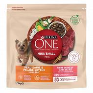 Purina one mini chien peau &pelage boeuf 1,5kg
