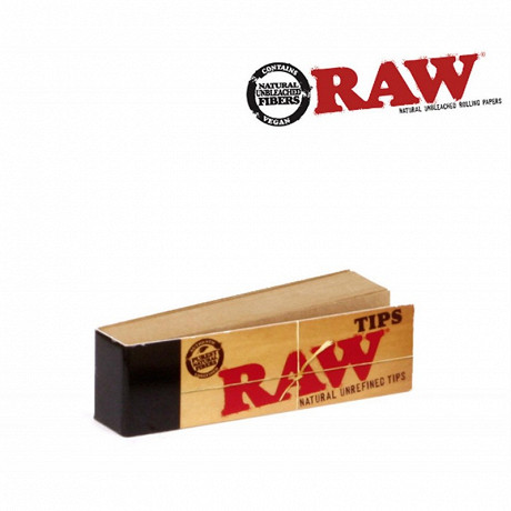 Filtres tips carton (naturel) raw
