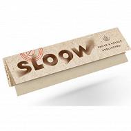Sloow papier à cigarette long naturel x 32 feuilles