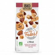 Mix fruits secs le minot bio 125g