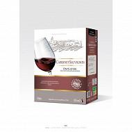L'âme du terroir vin de pays d'OC Cabernet Sauvignon 5 L 13% Vol.