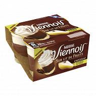 Viennois chocolat sur lit de poires 4x100g