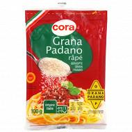 Cora grana padano râpé AOP rapé au lait cru 100 g 28.4%mg
