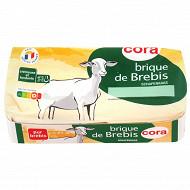 Cora brique de brebis lait pasteurisé 150g 26% S/PF