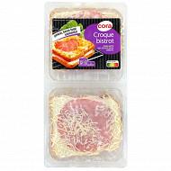 Cora Croque bistrot bacon 2 x 150g