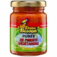 Dame besson purée de piments végétarien 90g