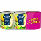 St mamet poires 4/4 lot 2+1 offert