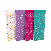 Bloc shopping floral agr 74x120 160 pages 90g