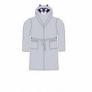 Robe de chambre garçon GRIS 4 ANS