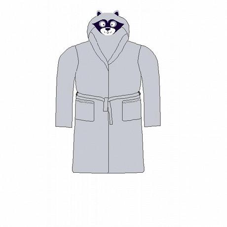 Robe de chambre garçon GRIS 8 ANS