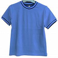 Tee shirt manches courtes garcon KAKI 18-0420 TPX 12 ANS