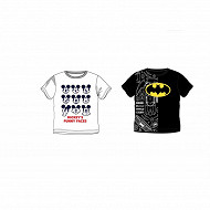 Tee shirt manches courtes licences BLANC MICKEY 8 ANS