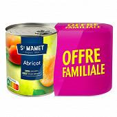 Abricot 4/4 lot de 2 offre familiale