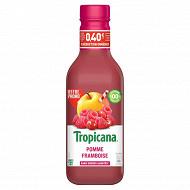 Tropicana pomme framboise 90cl 0.40  de réduction immédiate