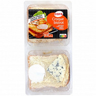Cora Croque bistrot 3 fromages 2 x 150g