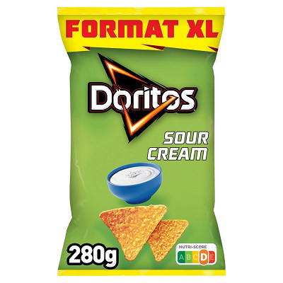 Doritos Doritos goût sour cream  format xl 280g