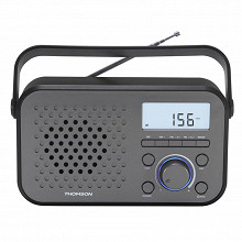 Thomson Radio portable 3 bandes noire/grise RT300