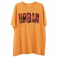 Tee shirt manches courtes homme BURGUNDY XXL