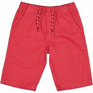 Short toile TURQUOISE 8 ANS