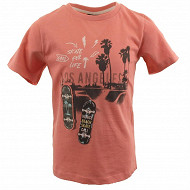 Tee shirt manches courtes garçon ROSE 3 ANS