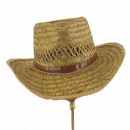 Chapeau forme cowboy NATUREL 55