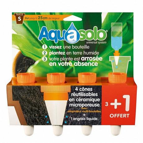 Aquasolo orange small x4