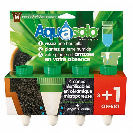 Aquasolo vert medium x4
