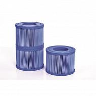 Cartouches de filtration antibactériennes (lot de 3 pcs) pour spas