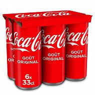 Coca-cola boite 6x33cl sleek