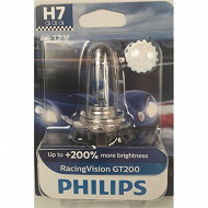 Philips lampe racing vision pro 200+200% h7 12v 55w