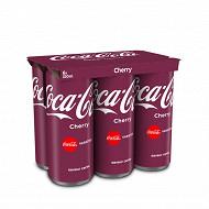 Coca-cola cherry boite 6x33cl sleek