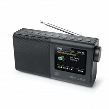 """Muse Radio portable fm, dab/dab+ 3w écran couleur 2.8"""" M-117 DB"""