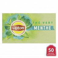 Lipton the vert menthe x50 80g