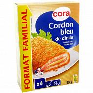 Cora cordon bleu de dinde 4x100g