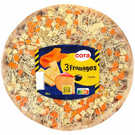 Cora pizza 3 fromages 450g