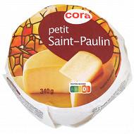 Cora petit Saint Paulin au lait pasteurisé - 12%MG 340 g