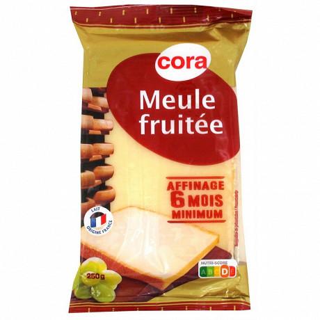 Cora meule fruitée 6 mois affinage 35%mg 250g