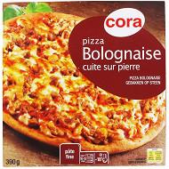 Cora pizza bolognaise cuite sur pierre 390g