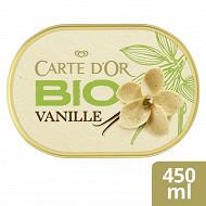 Carte d'Or bac bio vanille de Madagascar 450ml - 250g