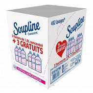 Soupline concentre assouplisseurs hypoallergenique 6x1900ml 3+3grt