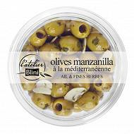 Atelier blini Olives manzanilla à la méditerranéenne 150g