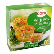 Cora 4 mini-gratins de légumes 480g
